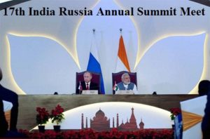 17th India Russia Annual Summit Meet