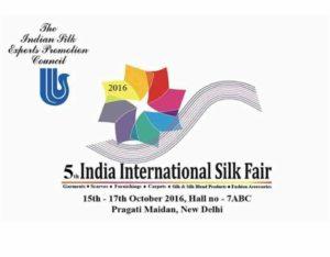 5th India International Silk Fair