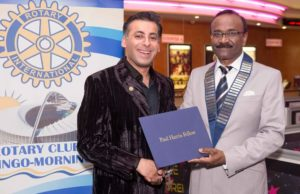 Indian-origin South African AB Moosa awarded prestigious Paul Harris Award in SA