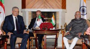 Hamid Ansari Visit to Algeria
