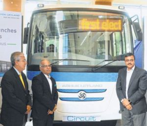 First Electric Bus in India