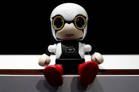 Baby robot unveiled in Japan by Toyoto