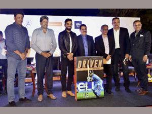 Book on Virat Kohli' Driven: The Virat Kohli Story' launched