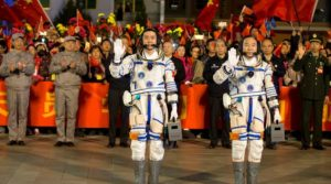 China launches longest-ever manned space mission