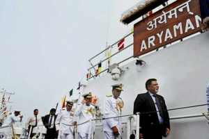 Coast Guard Ships Aryaman and Atulya commissioned