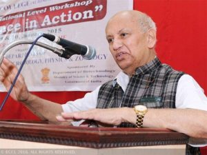 Space scientist U.R. Rao into its Hall of Fame of IAF
