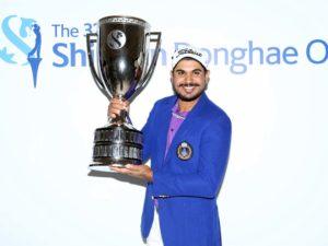 Indian golfer Gaganjeet Bhullar won Korea Open
