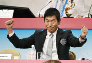 Japan's Morinari Watanabe elected President of International Gymnastics Federation