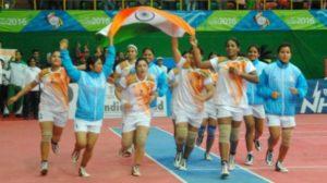 Kabbadi team - Asian games