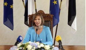 Kersti Kaljulaid elected next President of Estonia