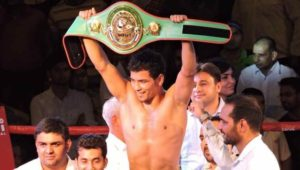Neeraj Goyat retained WBC Asia welterweight title