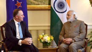 New Zeland PM John Key visit to India