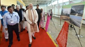 PM Modi inaugurates international terminal at Harni airport