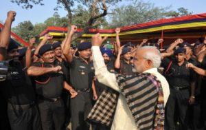 PM Modi launched #Sandesh2Soldiers campaign