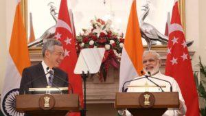 Singapre PM Lee Visit To India.