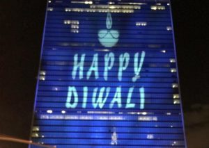 United Nations commemorated Diwali for the first time