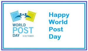 World Post Day 2016