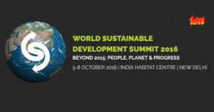 Sustainable Development Summit 2016