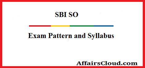 sbi-so-exam-pattern