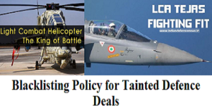Blacklisting Policy for Tainted Defence Deals