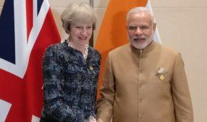 British Prime Minister Theresa May Visit to India