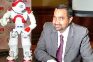 City Union Bank unveils artificial intelligence powered robot-Lakshmi