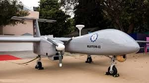 DRDO's drone Rustom-2 successfully completes its test flight.