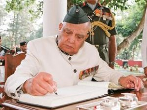 Former J-K Governor Lt Gen Sinha Passes Away