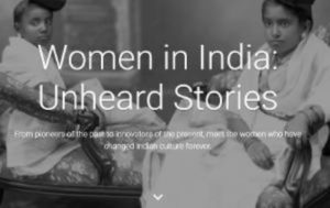 Google launched Virtual Exhibition on Iconic Indian Women