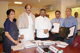 MoU signed for enabling online submission of applications under PMAY