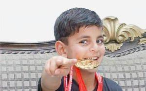 Hashim Mansoor of Kashmir won Asian Youth Karate Championships