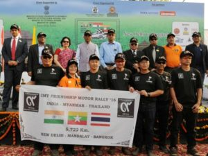 IMT Friendship Motor Car Rally flagged off