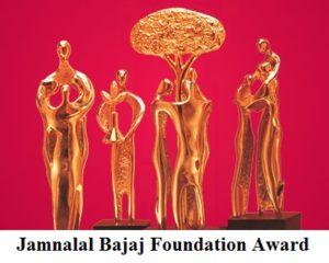 Jamnalal Bajaj Foundation Award