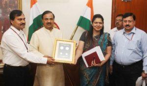 Narendra Kumar Sinha, Secretary, Ministry of Culture released a Commemorative Non-Circulation Coin of Rs.500 and a Circulation Coin of Rs.10 on November 25,