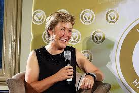 Debbie Hockley - president of New Zealand Cricket Board