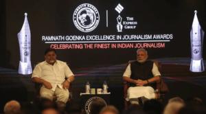 Ramnath Goenka Awards 2016