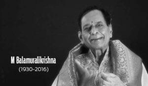Veteran Carnatic music exponent M Balamurali Krishna passed away at 86