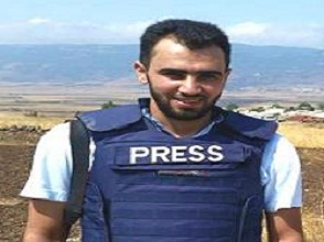 Young Syrian Hadi Abdullah Named Journalist Of The Year By Press Watchdog