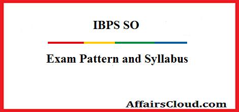 ibps-so-exam-pattern