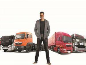 Tata Motors roped Akshay Kumar As Brand Ambassador For Commerical Vehicles