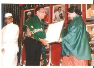 1972, the Government of Tamil Nadu honored her with the Kalaimamani Award.