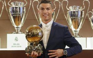 Cristiano Ronaldo defeats Lionel Messi to win Ballon d'Or 2016