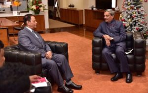 Defence Minister Manohar Parrikar on 3 Day Visit to Mauritius