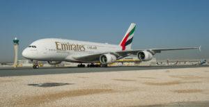 Emirates launched world's shortest service