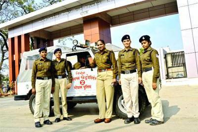 Mahila Police Volunteer