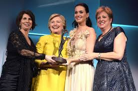Katy Perry honoured with humanitarian award at UNICEF event