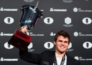 Magnus Carlsen defeats Sergey Karjakin to Win World Chess Championship
