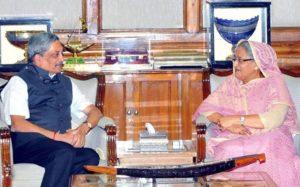 Manohar Parikar Arrived Bangladesh on Two-Day Visit for Defence Ties