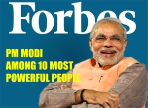 Prime Minister Narendra Modi Ranks among Forbes' Top 10 Worlds Most Powerful People