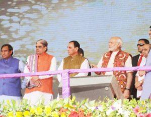 PM Modi Inaugurates Cheese Plant at Palanpur, Gujarat
